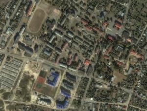 Яндекс обновил фотографии Лельчиц со спутника