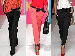 Каковы же тенденции в моде на сезон весна-лето 2013 в сфере женских брюк?