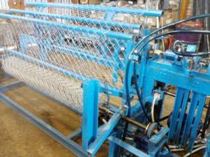 Производственный процесс сетки рабицы
