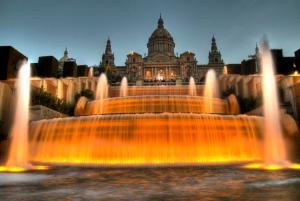 Волшебные фонтаны