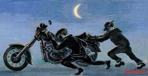 Как избежать угона мотоцикла, наиболее действенные методы