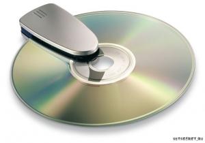 Создание и монтирование образа диска