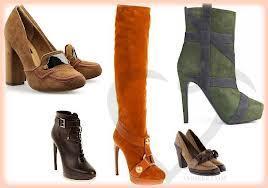 Модная обувь осени 2013