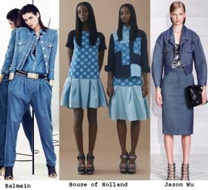 Модный тренд: вещи из денима