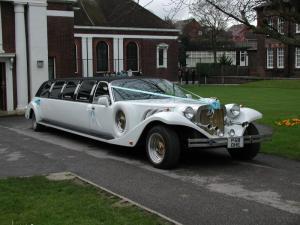 Все мечтают о лимузине на свадьбу