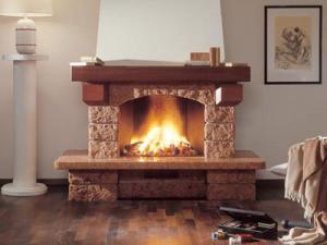 Современный камин в доме - элемент уюта