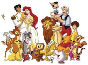 Все любят смотреть мультфильмы Диснея