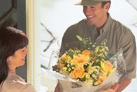 Служба доставки цветов всегда готово выручить