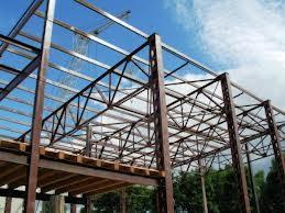 Использование металлоконструкций в строительстве.
