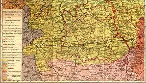 Вам интересна старая карта Лельчиц?