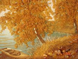 Картина из янтаря как особый элемент картинной галереи