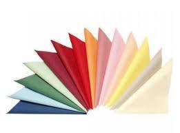 Бумажные салфетки выполняют и эстетическую функцию